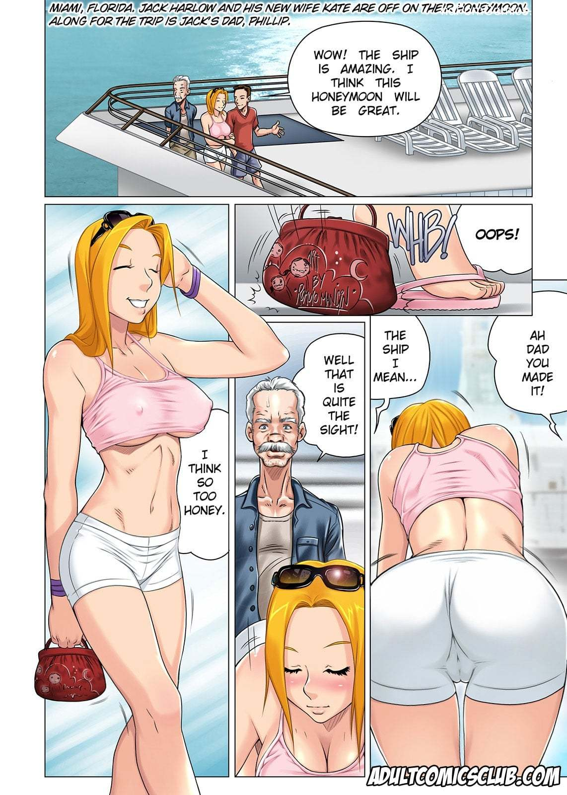 The Horny Stepfather 1-223 free sex comic