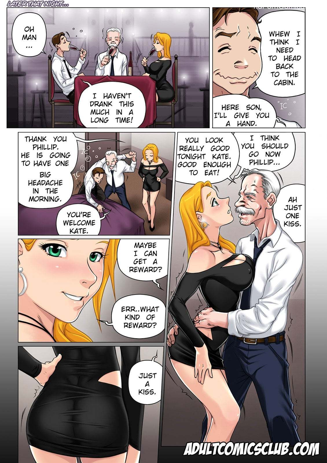 The Horny Stepfather 1-226 free sex comic