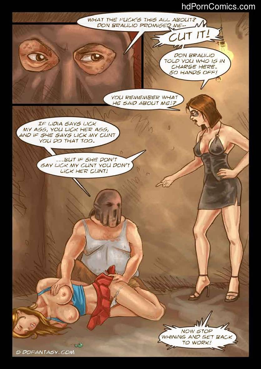The Hostage 113 free sex comic