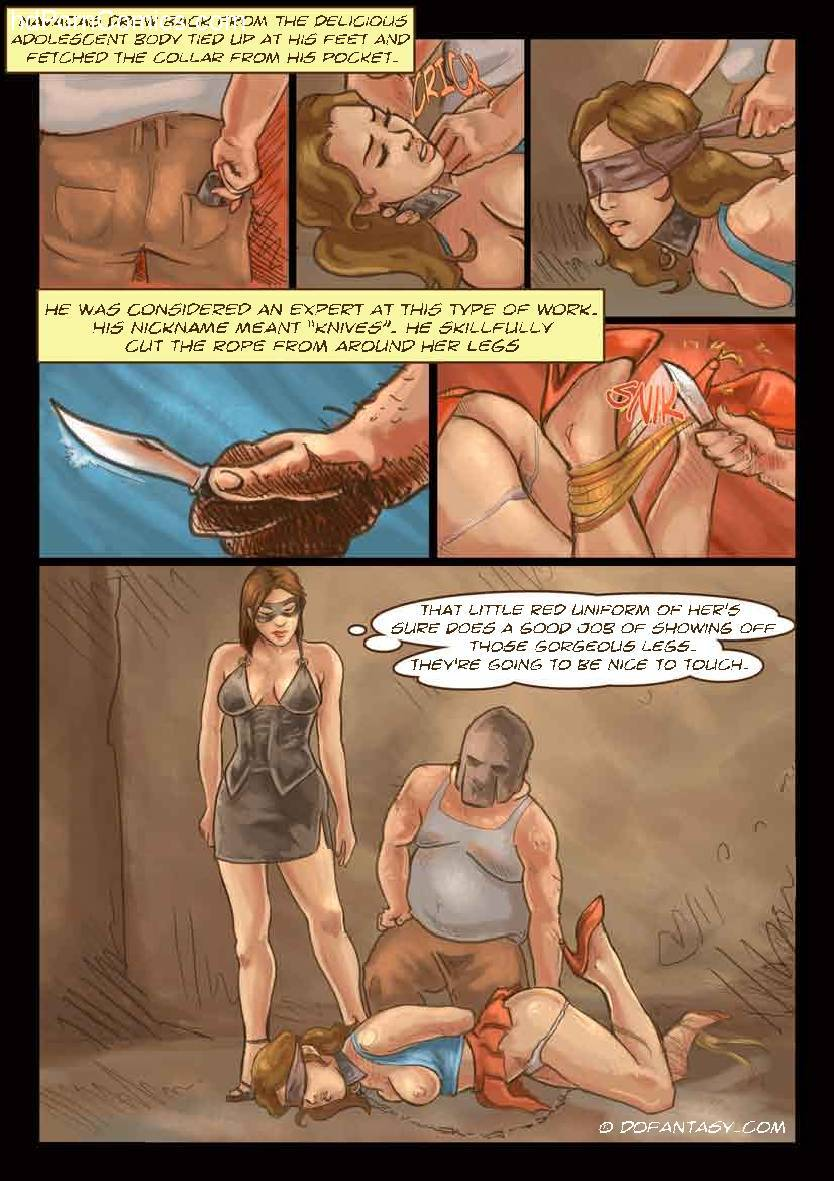The Hostage 114 free sex comic