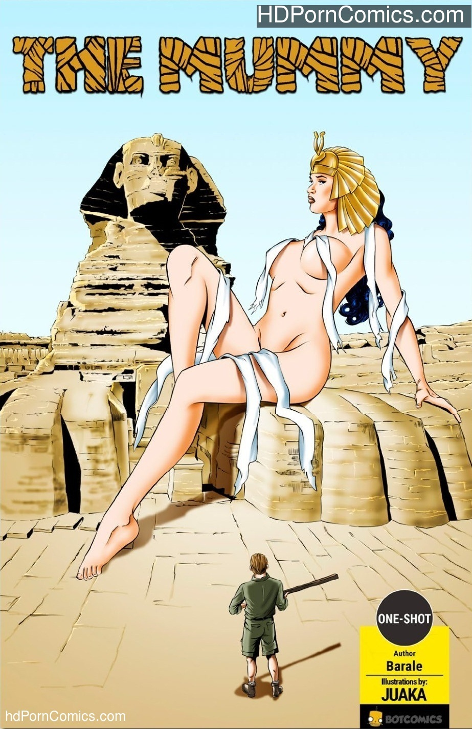 The Mummy free Cartoon Porn Comic