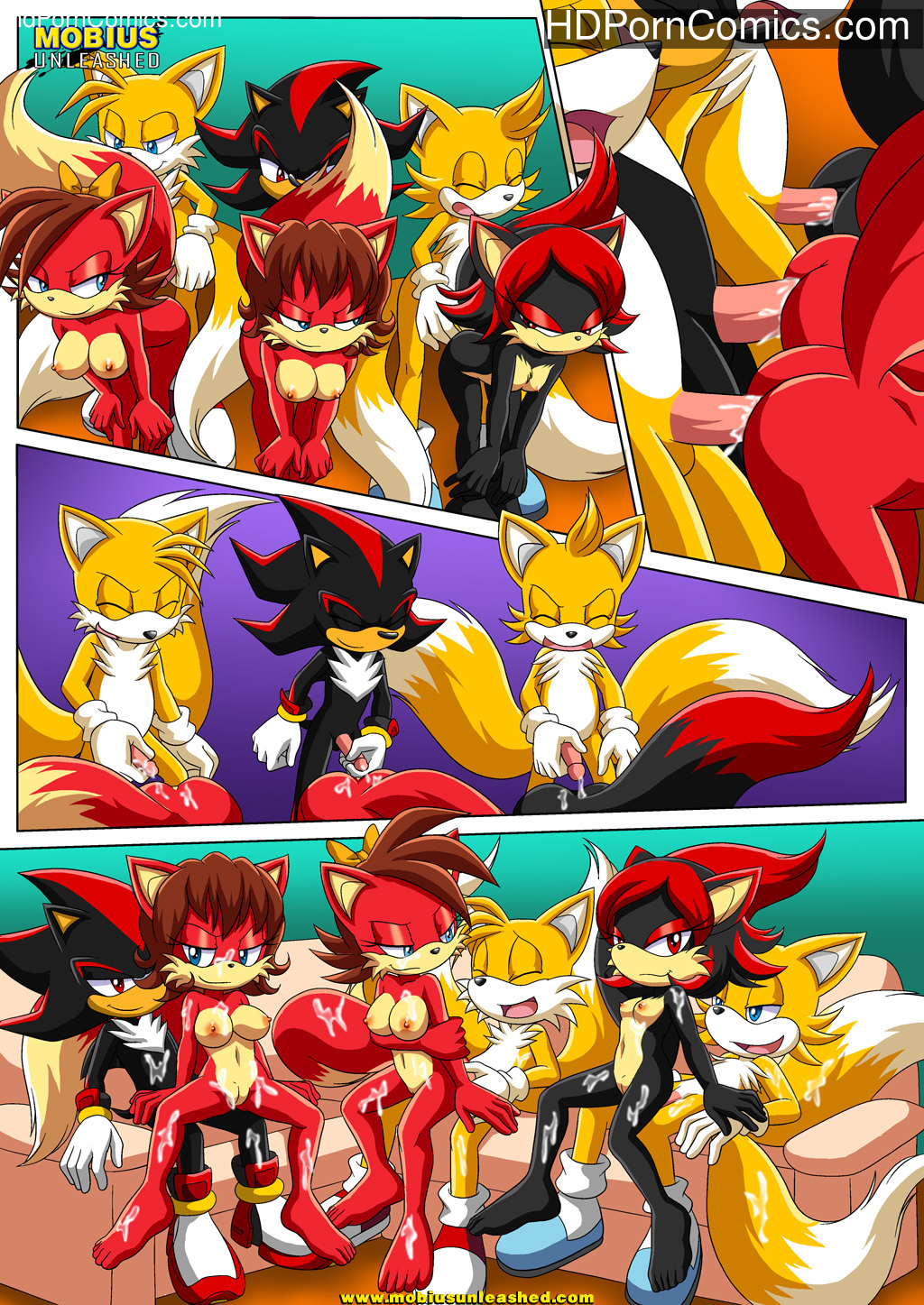 The Prower Family Affair – Foxy Black (Sonic The Hedgehog) – Porncomics free Porn Comic