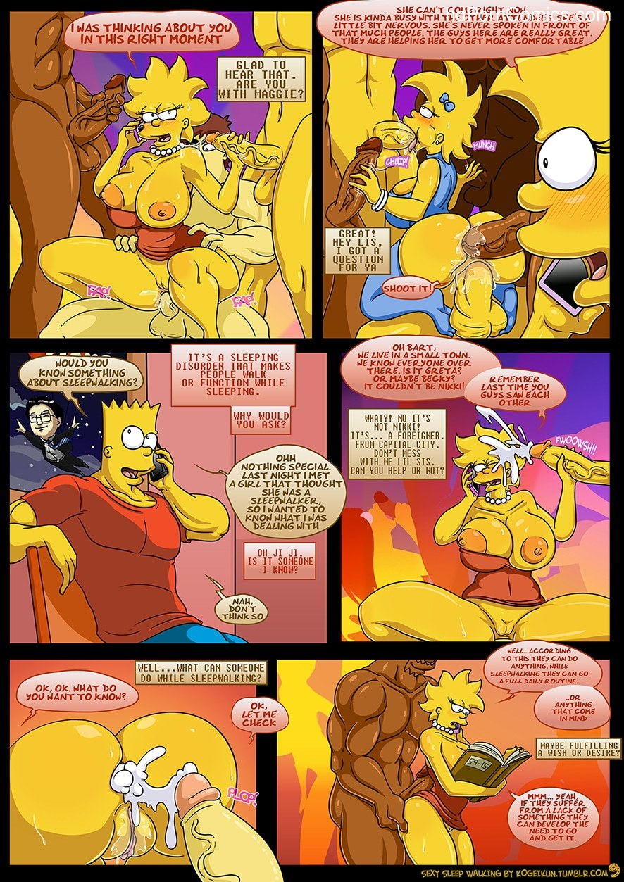 The Simpsons - Sexy Sleep Walking10 free sex comic