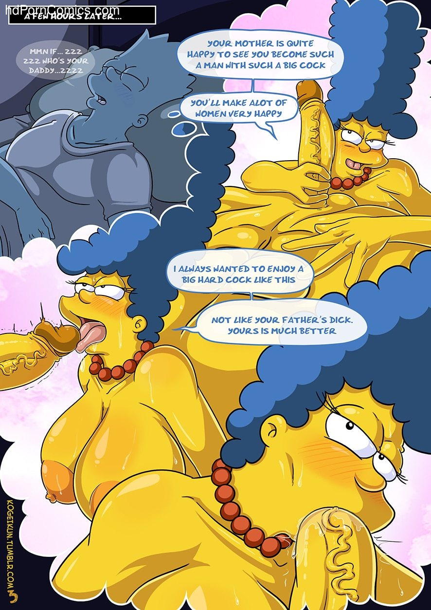 The Simpsons - Sexy Sleep Walking4 free sex comic