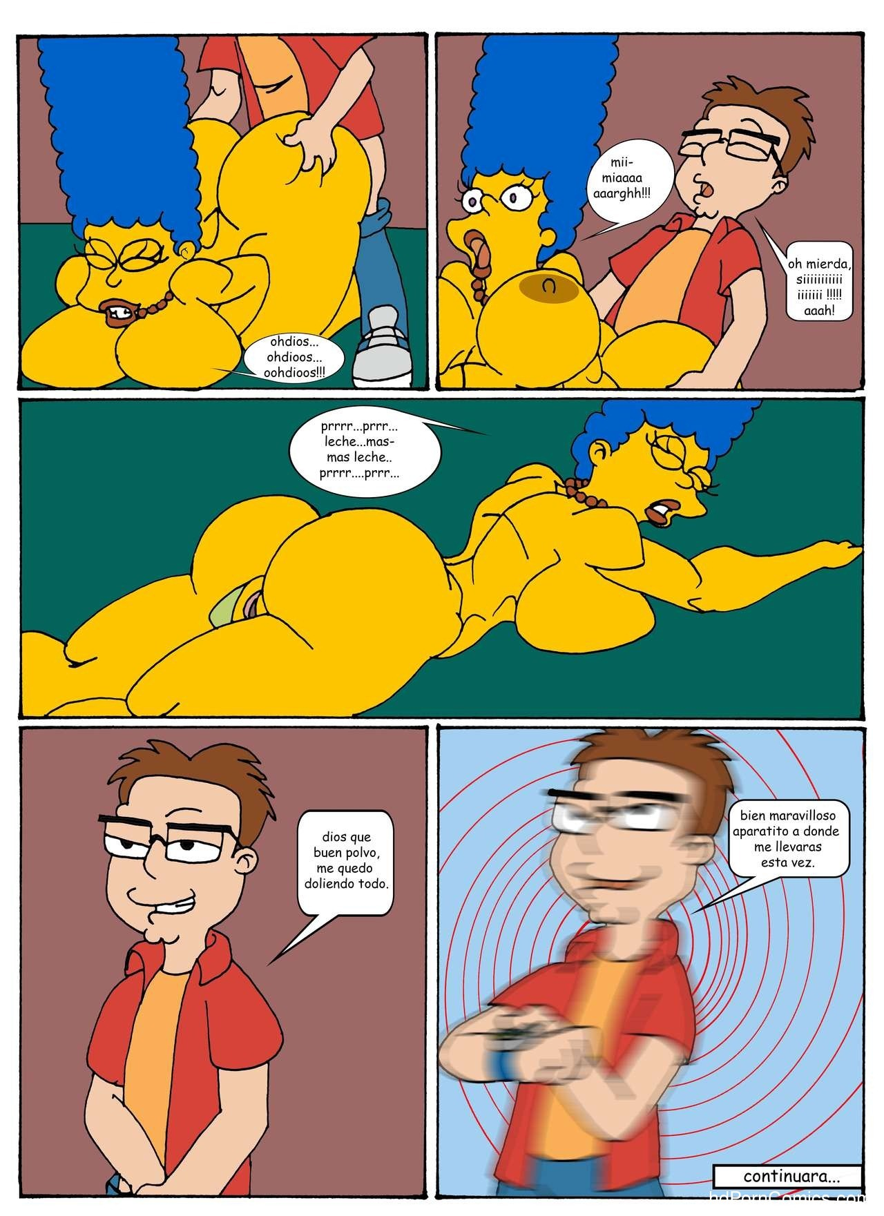 The Simpsons-American Son free Porn Comic