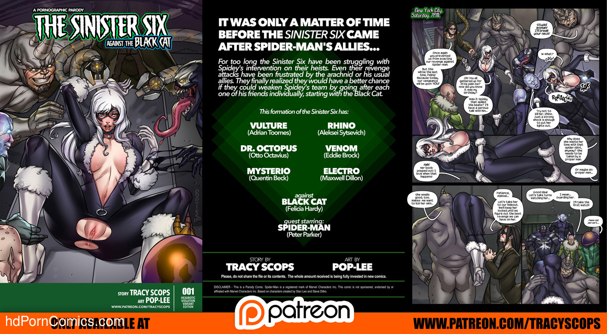 felicia cat sex cartoon anal - ... The Sinister Six Against the Black Cat2 free sex comic