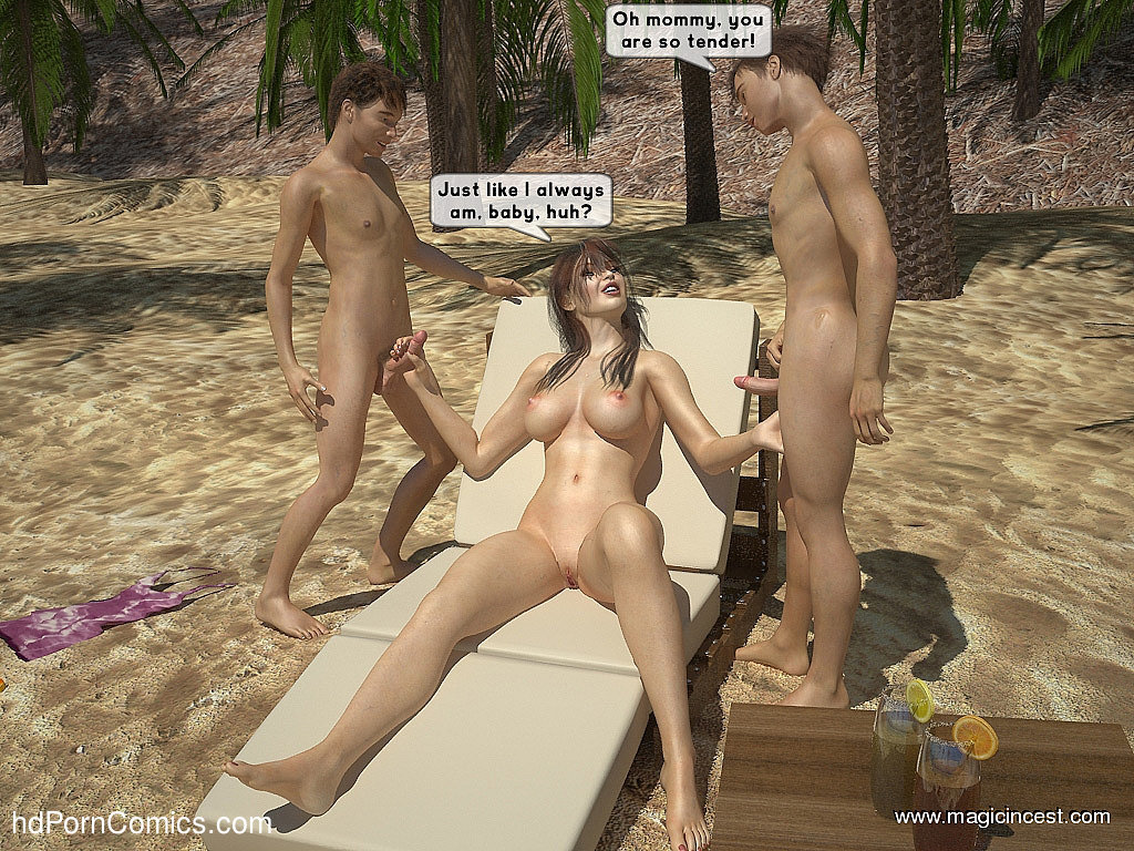 The hot orgy in the hot sun10 free sex comic