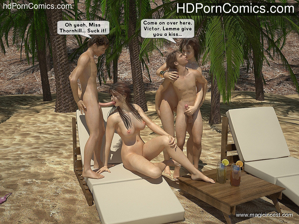 The hot orgy in the hot sun11 free sex comic