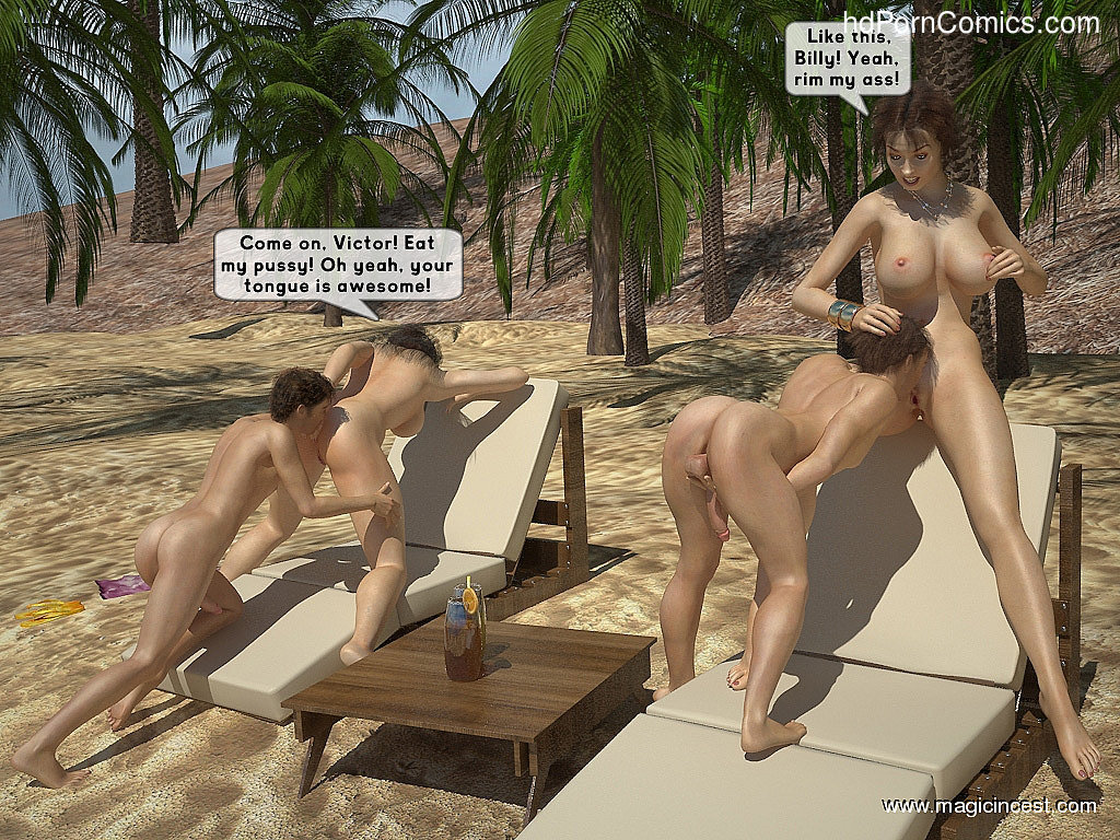 The hot orgy in the hot sun15 free sex comic
