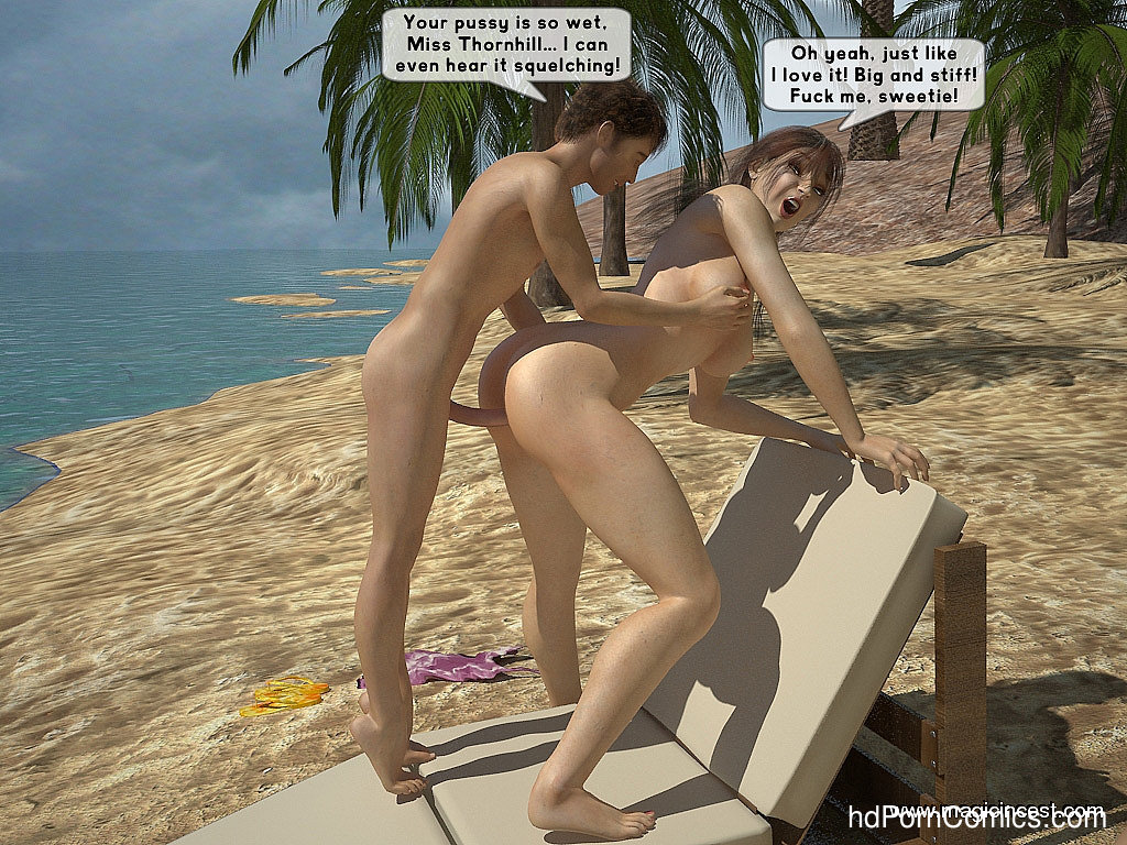 The hot orgy in the hot sun17 free sex comic