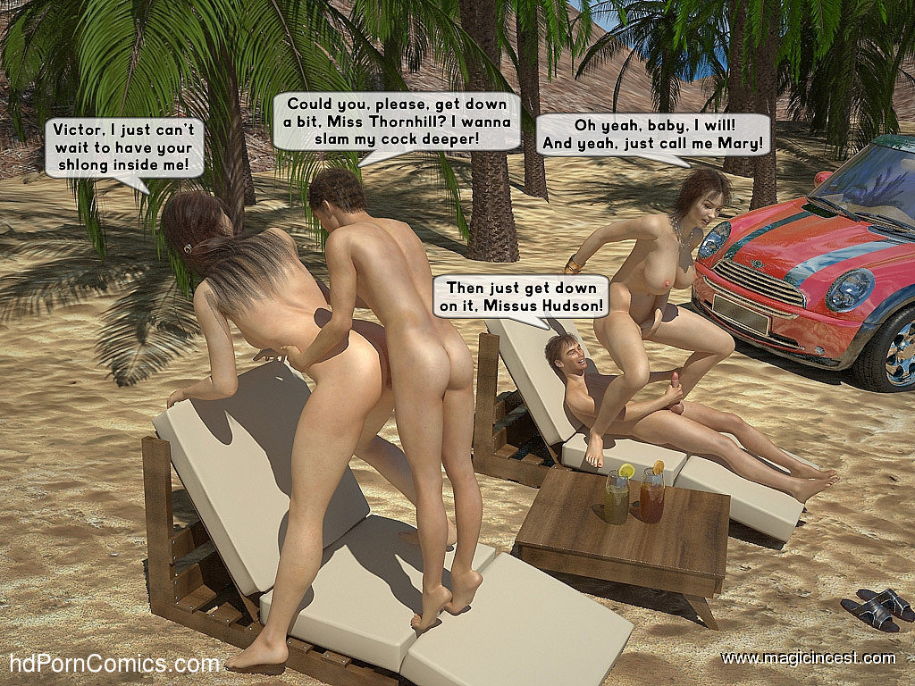 The hot orgy in the hot sun18 free sex comic