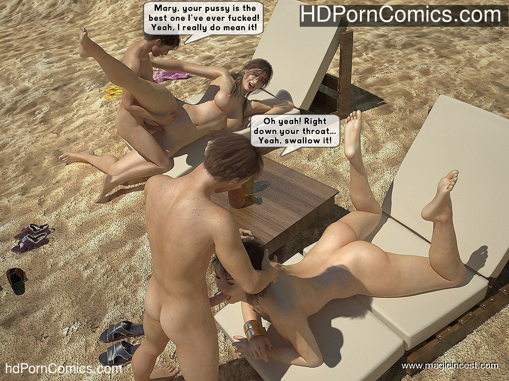 The hot orgy in the hot sun21 free sex comic