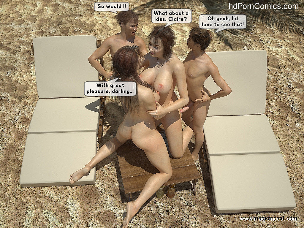 The hot orgy in the hot sun24 free sex comic