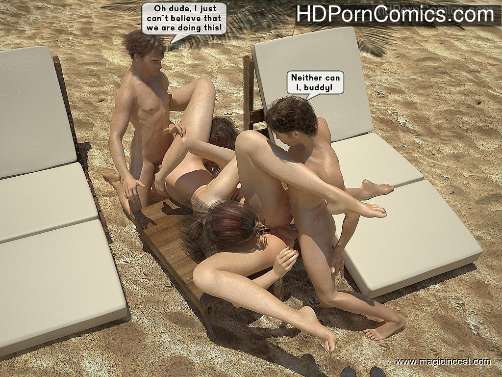 The hot orgy in the hot sun31 free sex comic