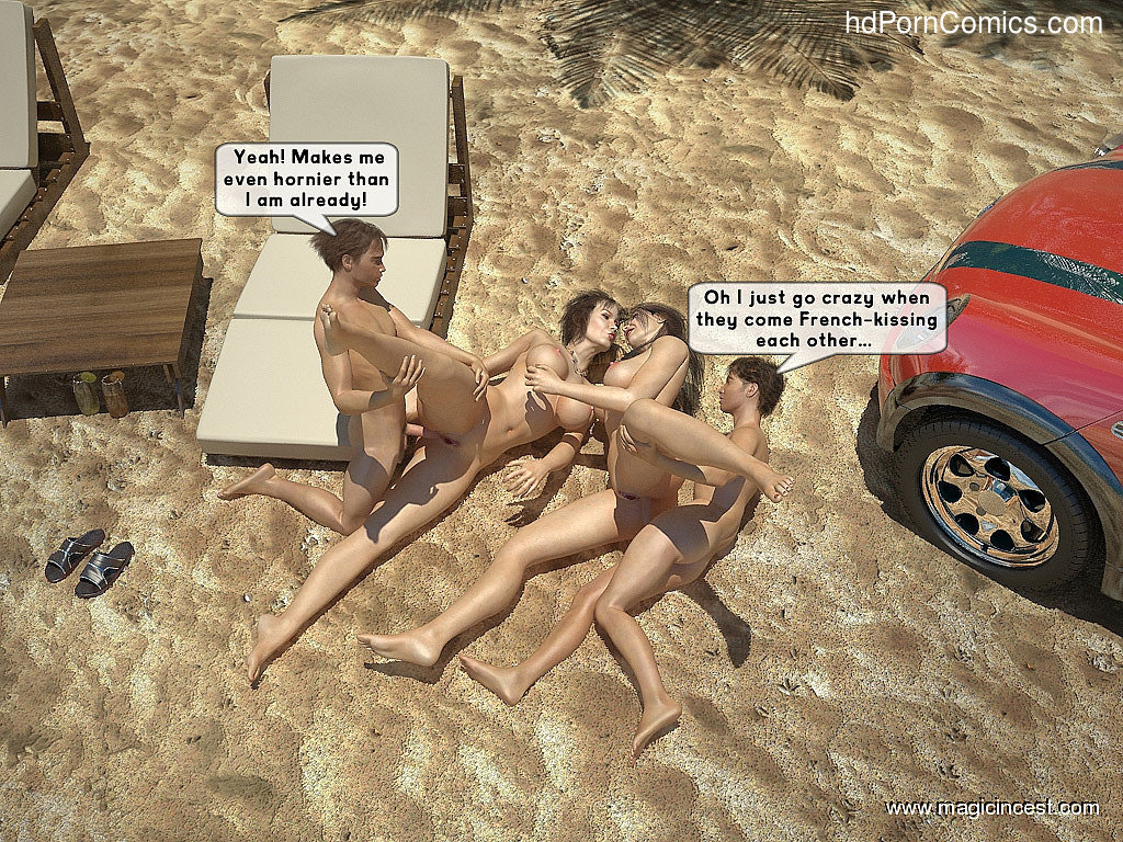 The hot orgy in the hot sun36 free sex comic