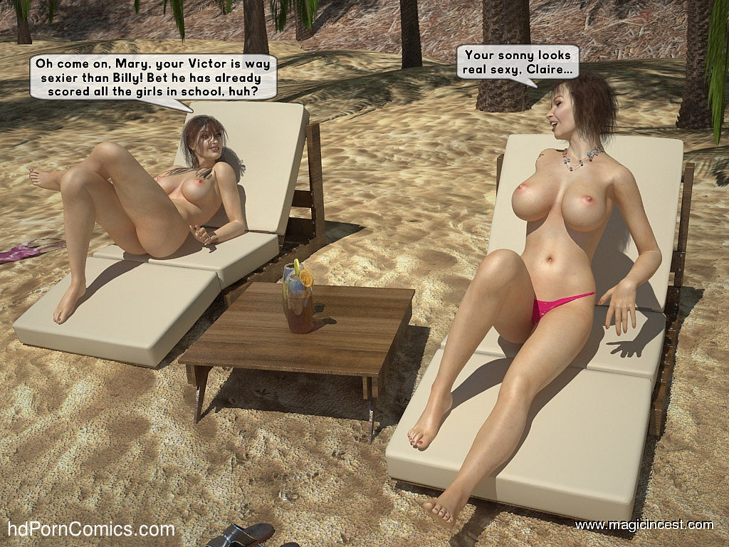 The hot orgy in the hot sun5 free sex comic