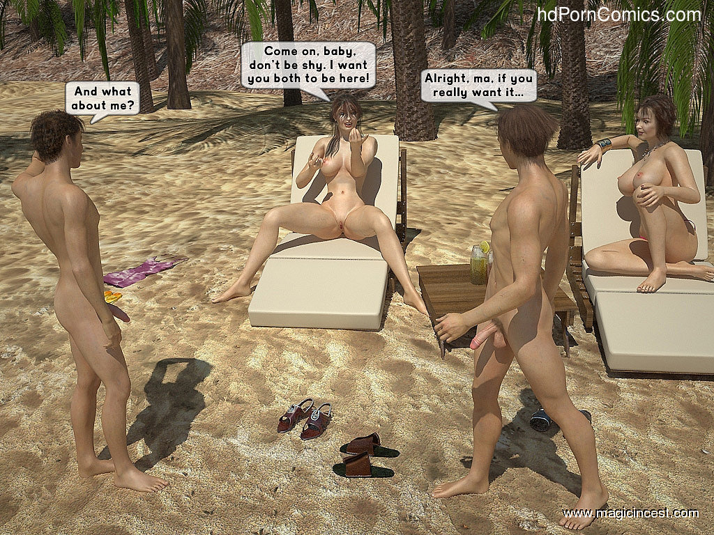 The hot orgy in the hot sun9 free sex comic