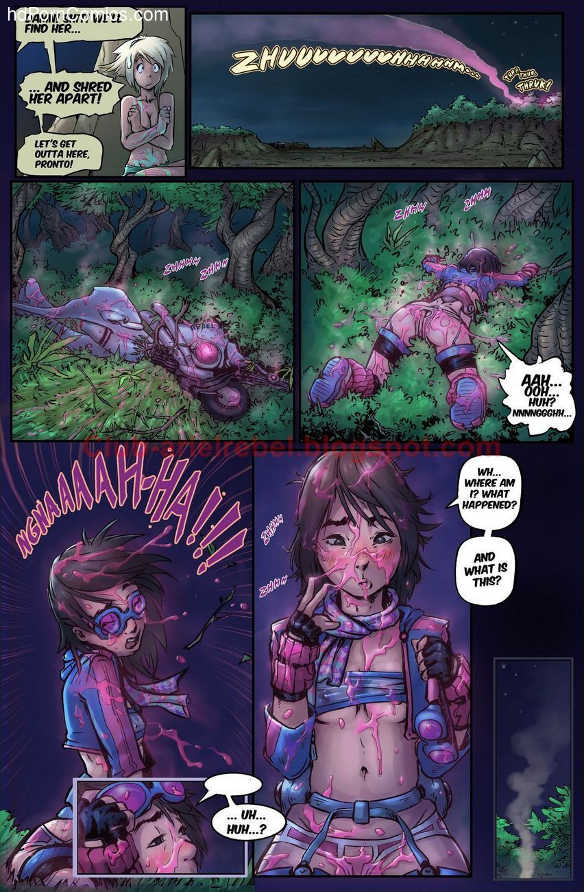 The Adventures Of Ariel Rebel 1 5 free sex comic