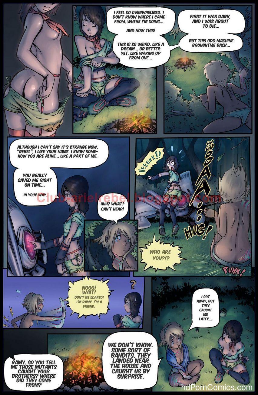 The Adventures Of Ariel Rebel 1 6 free sex comic