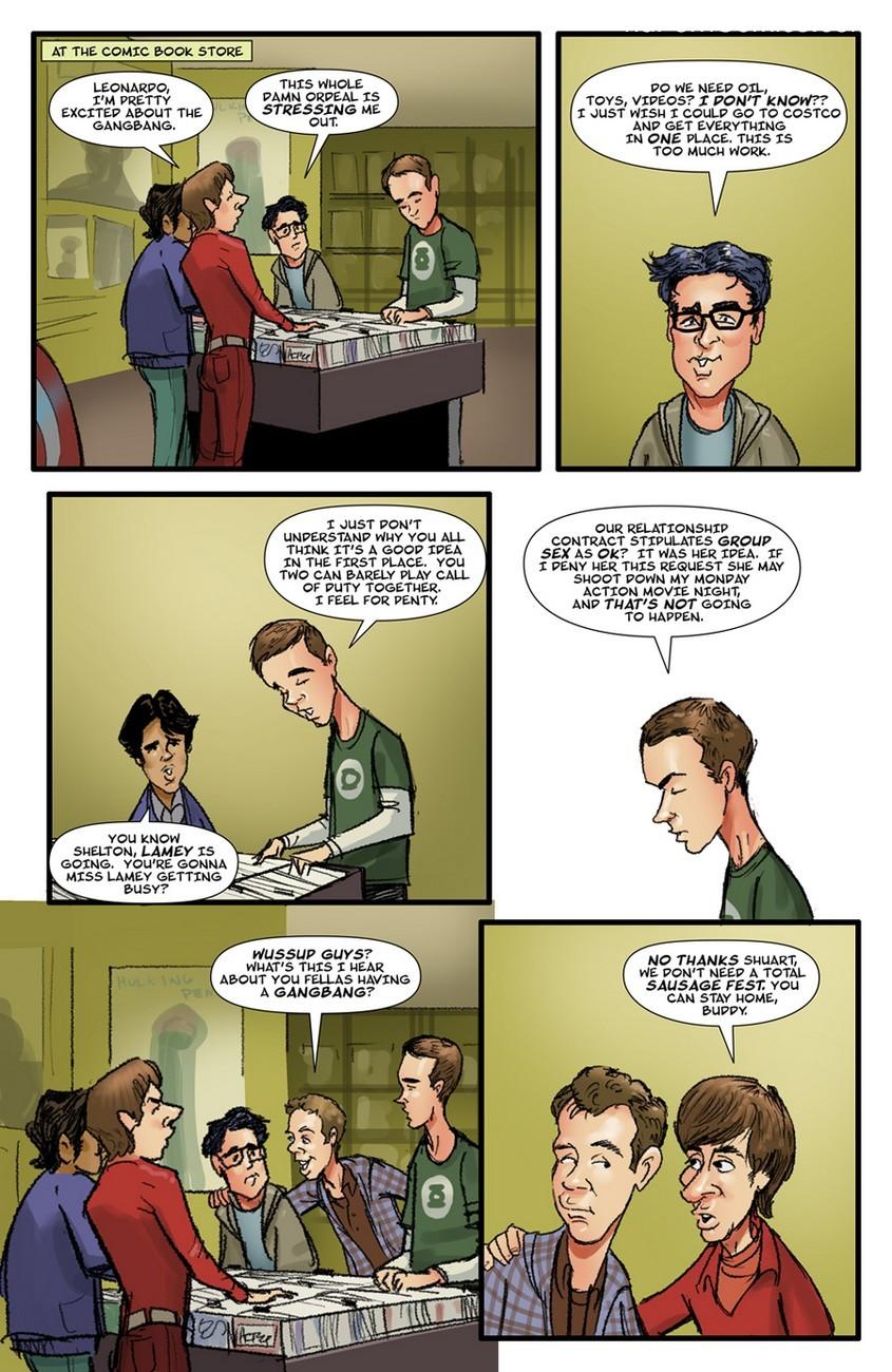 The Big Bang Theory 7 free sex comic