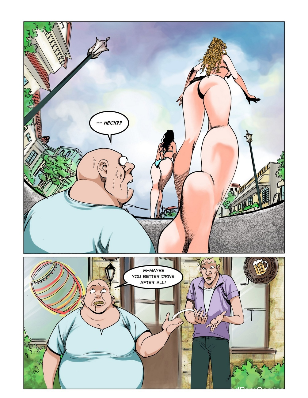 The Big Splash 33 free sex comic