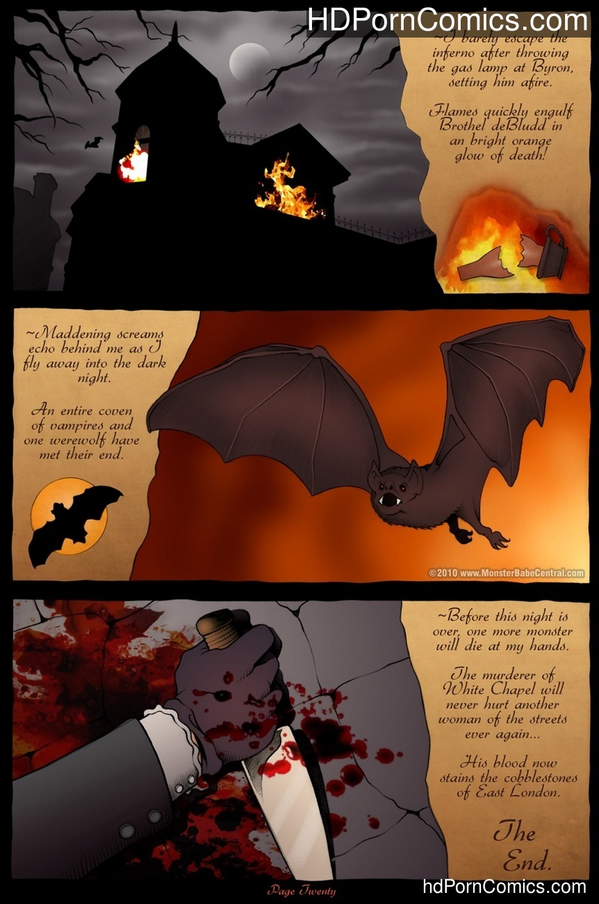The Brothel Of Blood Sex Comic