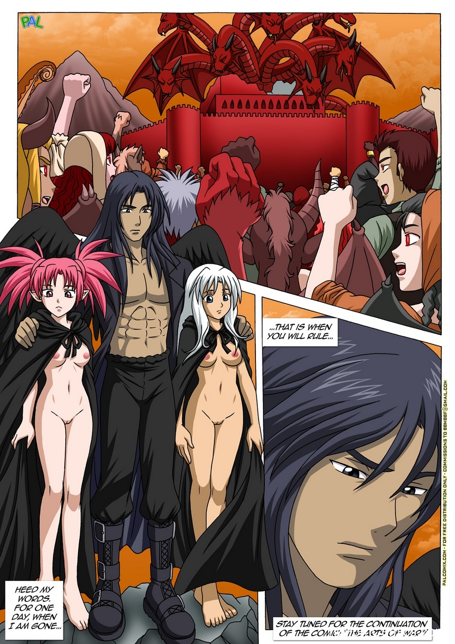 The Carnal Kingdom 4 – To Rise And Fall Sex Comic