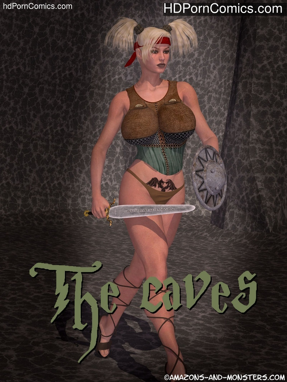 The Caves Sex Comic