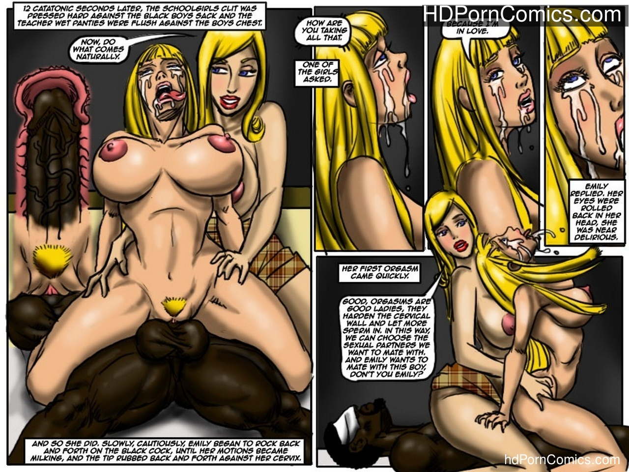 The Class 21 free sex comic