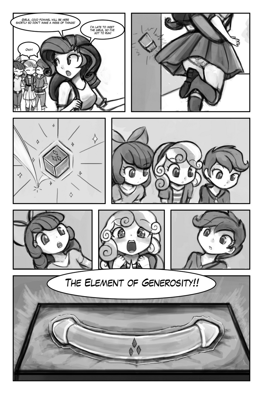 The Cutie Mark Crusaders - The Element Of Generosity 2 free sex comic