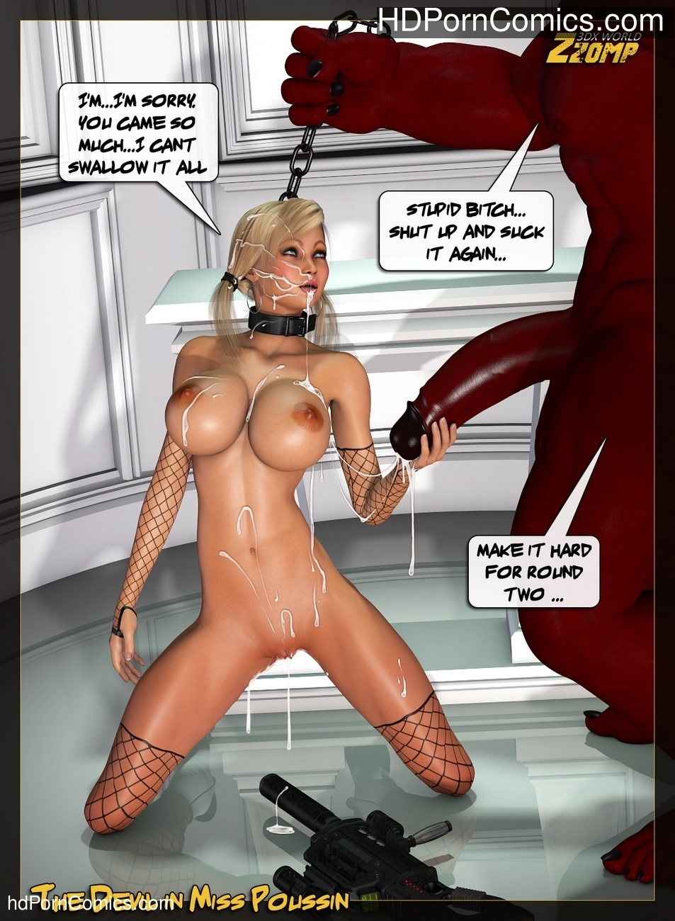 The Devil In Miss Poussin Sex Comic