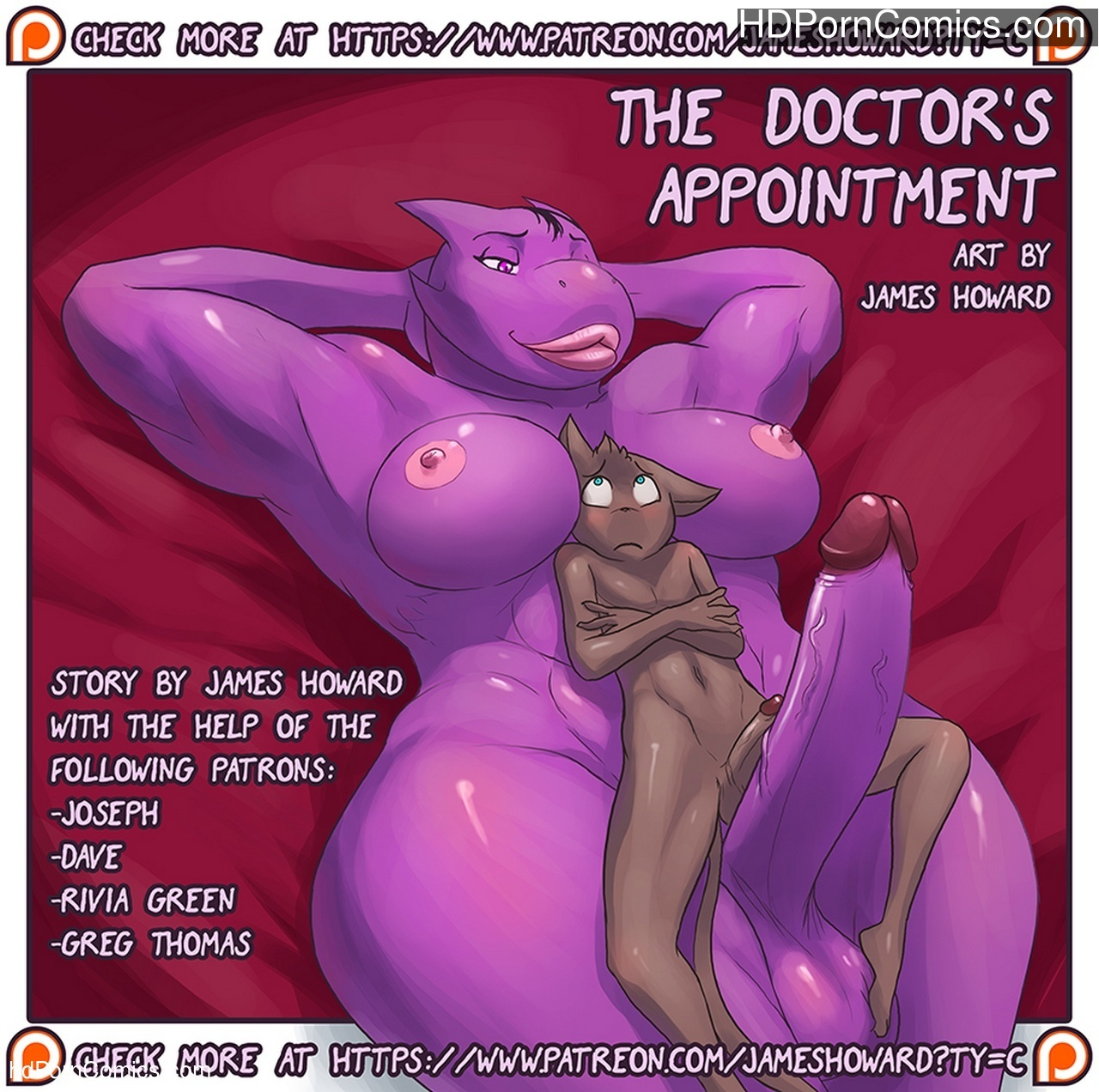 The Doctor's Appointment Sex Comic