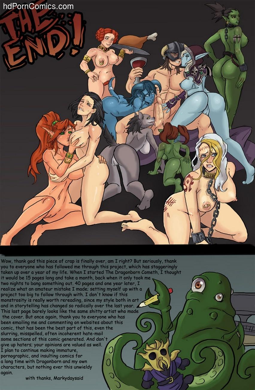 The Dragonborn Cometh Sex Comic