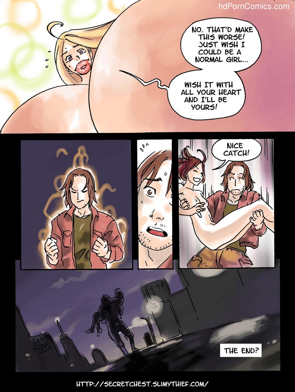 The Expansion Cabaret Sex Comic