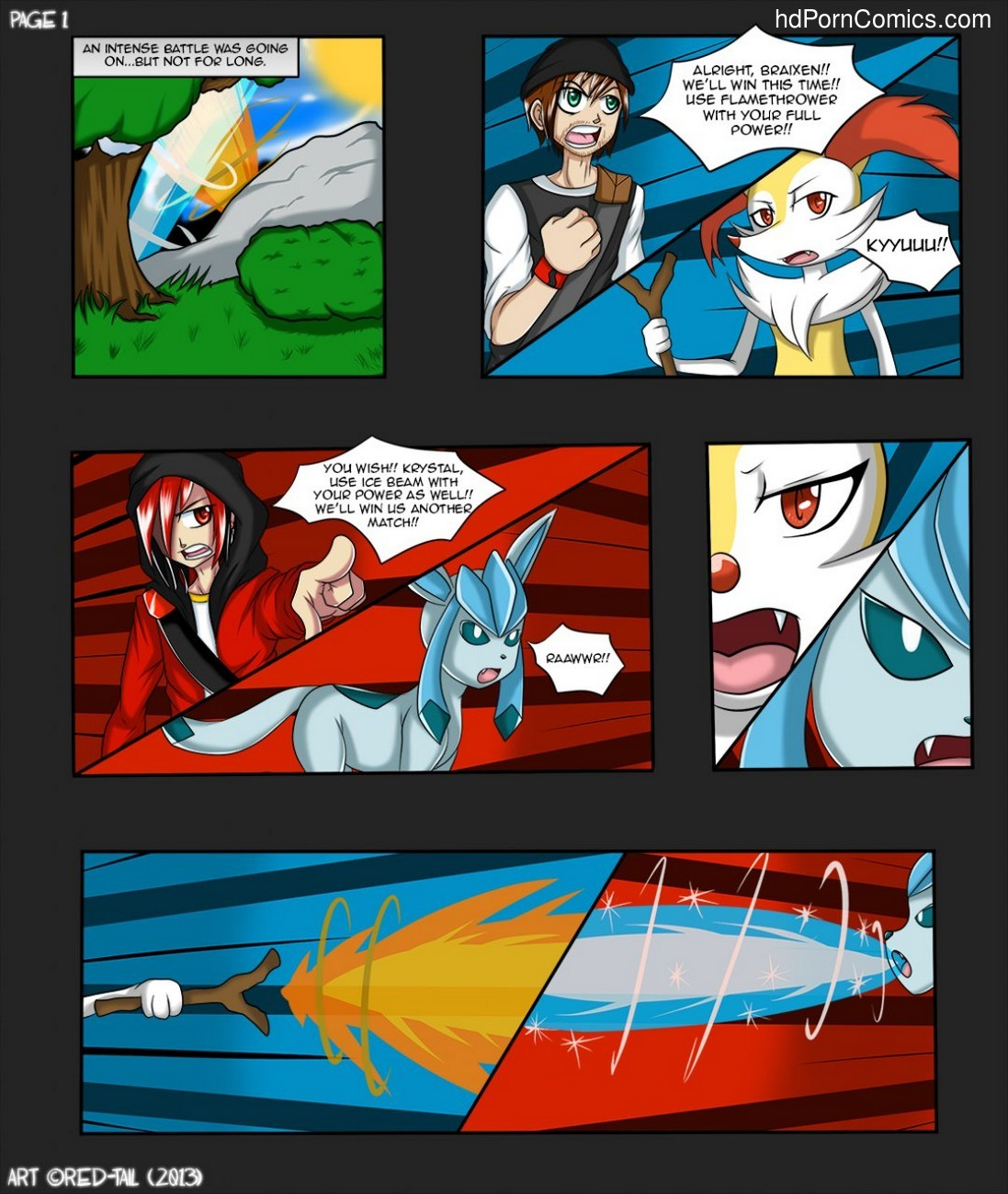 The Forbidden Flame 2 free sex comic