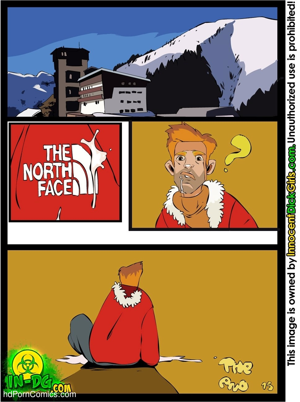The Free Ski Pass Sex Comic