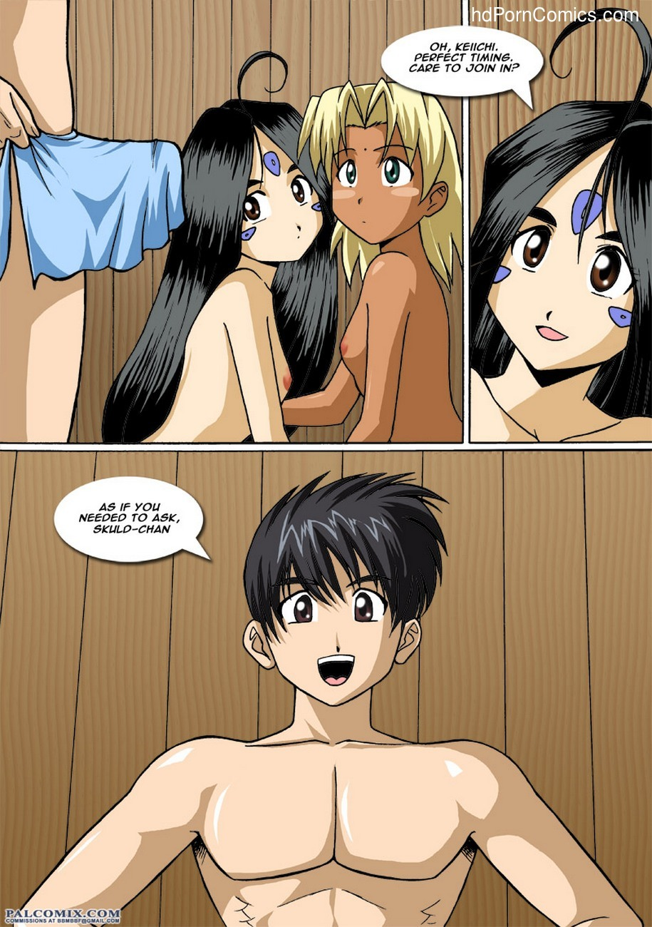 The Goddess And The Princess 2 4 free sex comic