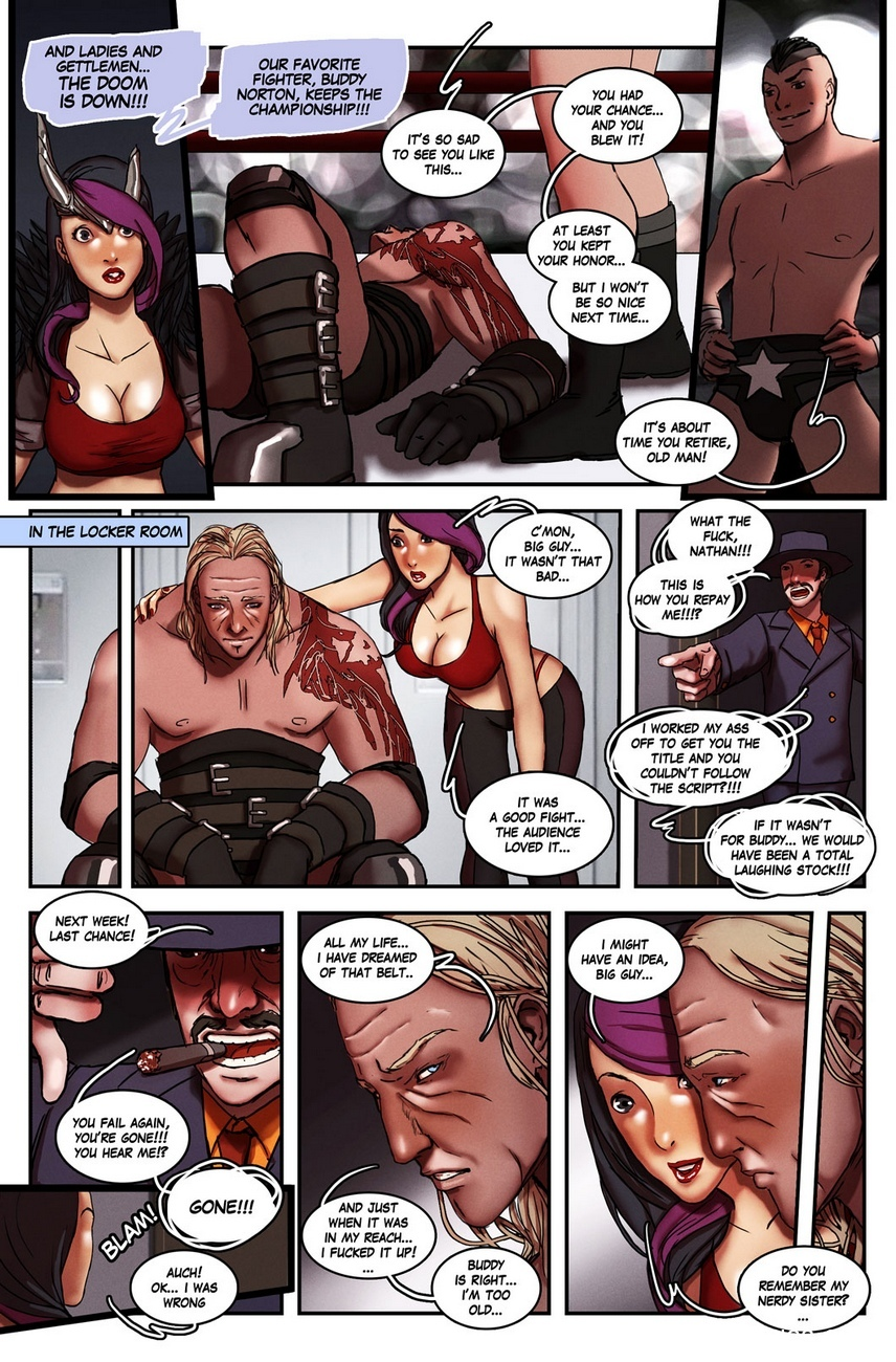 The Heel 3 free sex comic