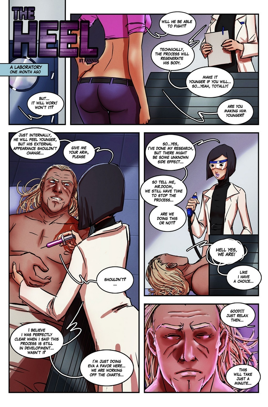 The Heel 7 free sex comic