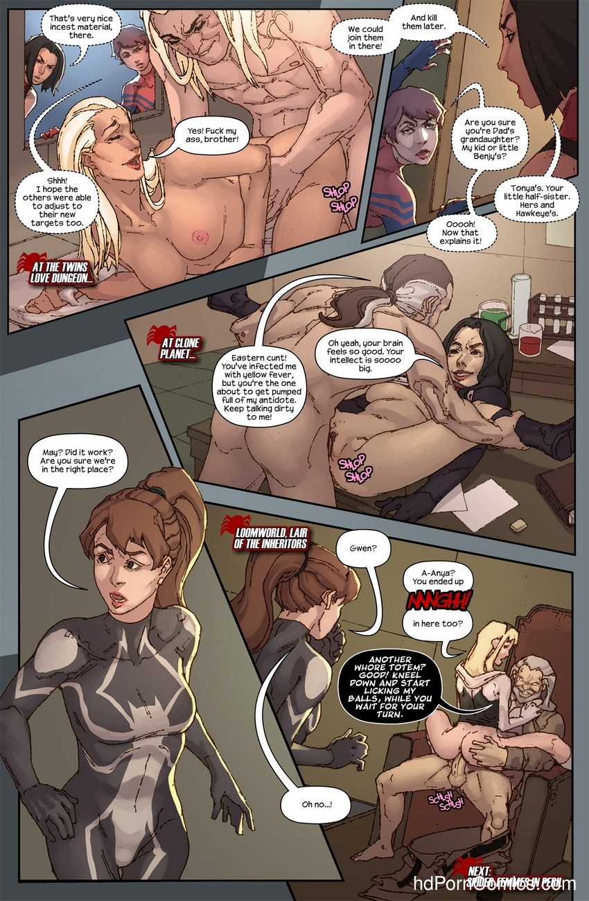 The Hunt For The Inheritors 10 free sex comic
