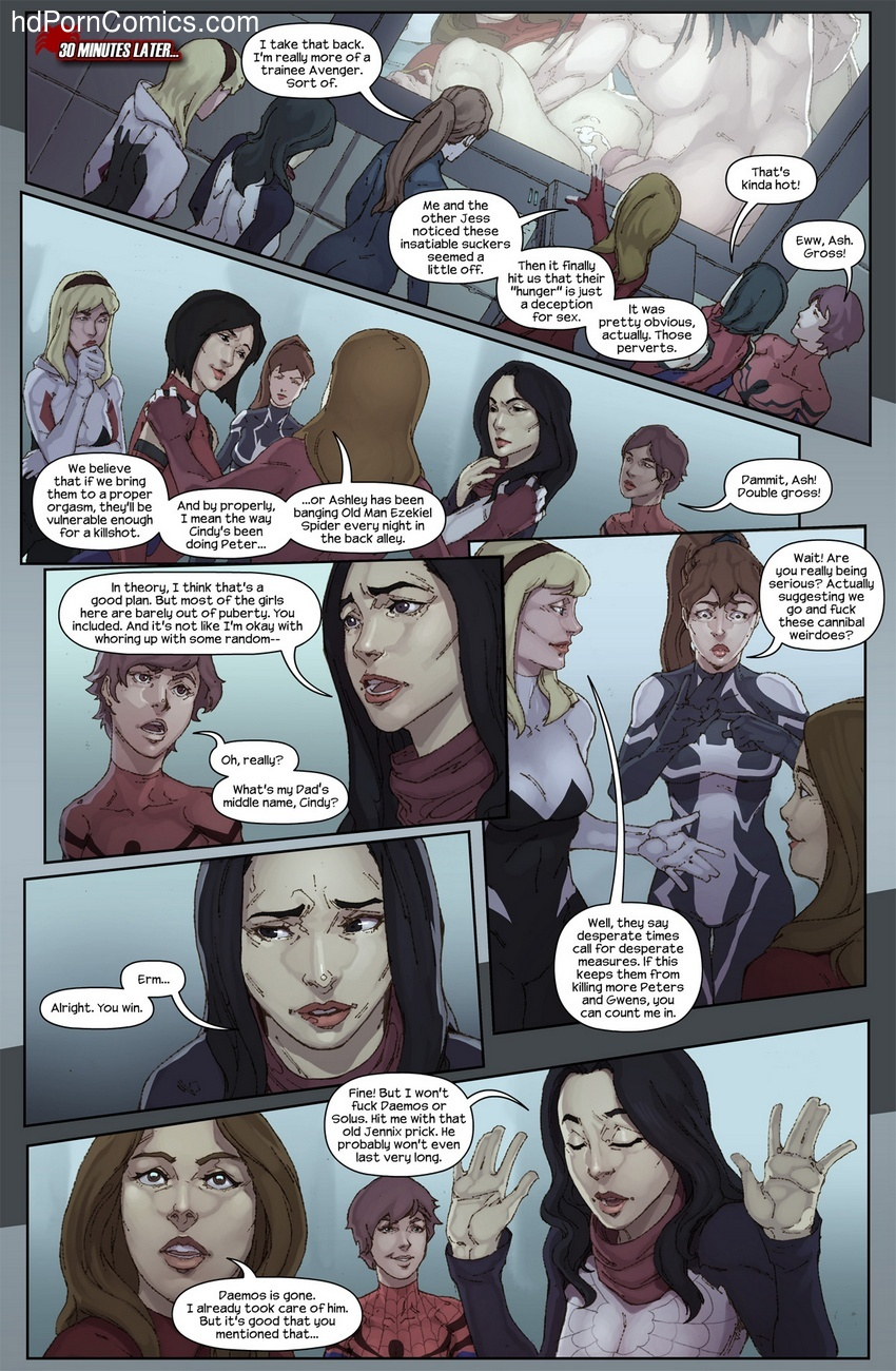 The Hunt For The Inheritors 4 free sex comic