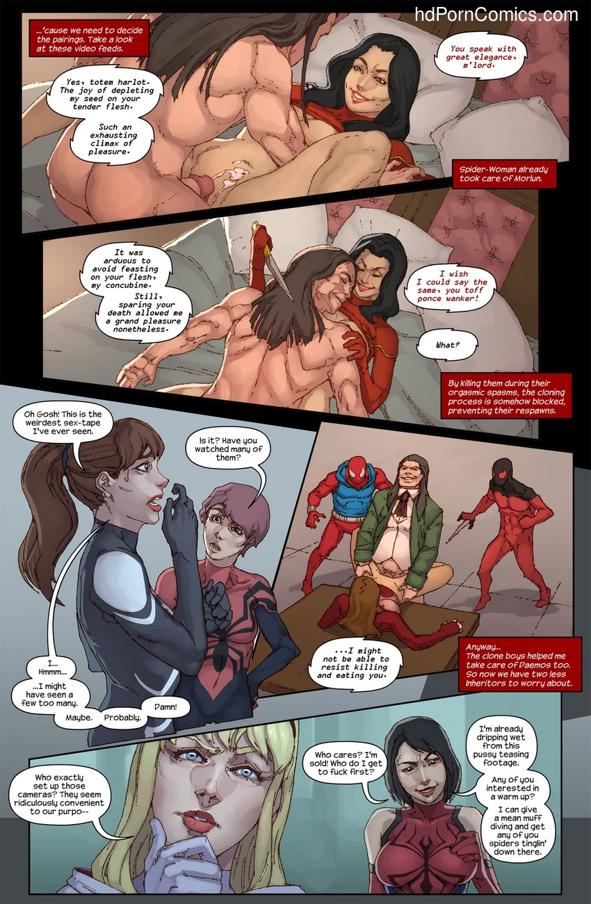 The Hunt For The Inheritors 5 free sex comic