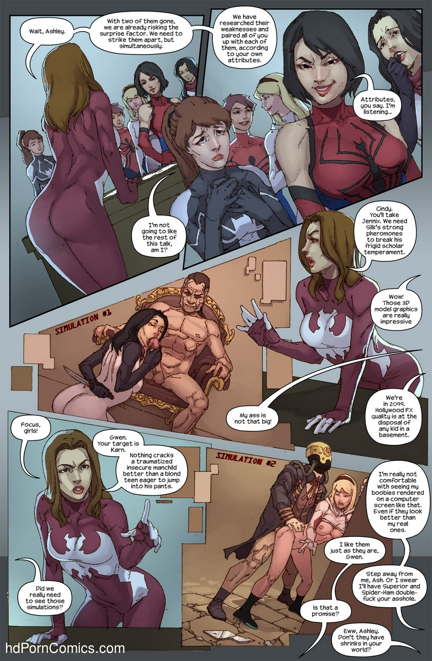 The Hunt For The Inheritors 6 free sex comic