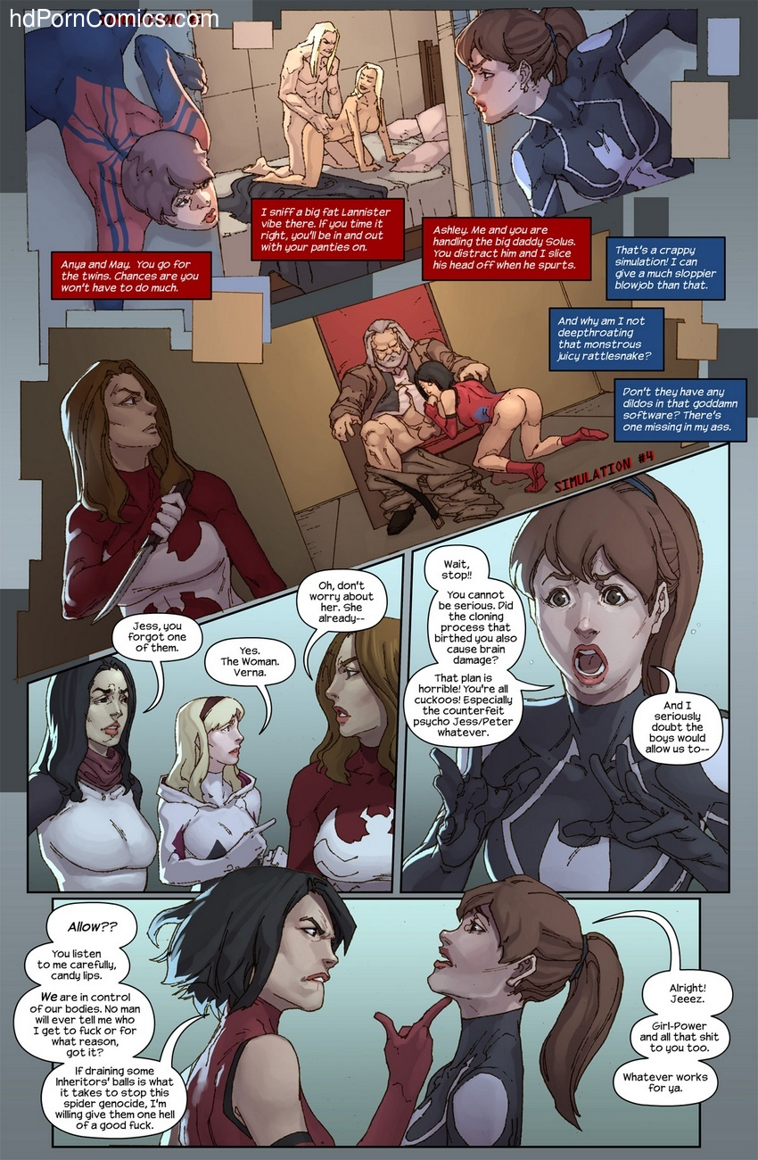 The Hunt For The Inheritors 7 free sex comic
