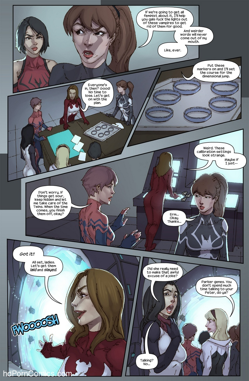 The Hunt For The Inheritors 8 free sex comic