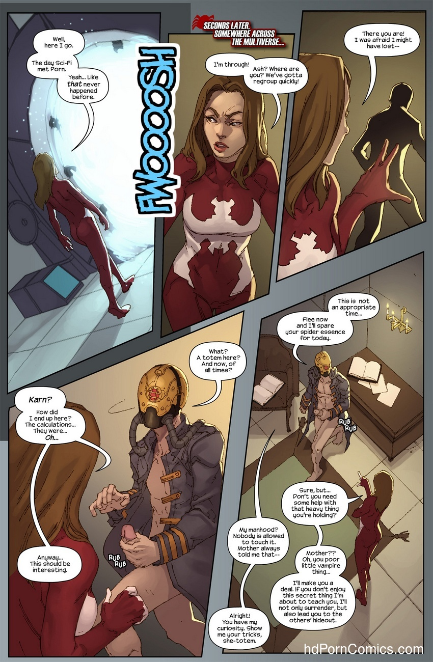 The Hunt For The Inheritors 9 free sex comic