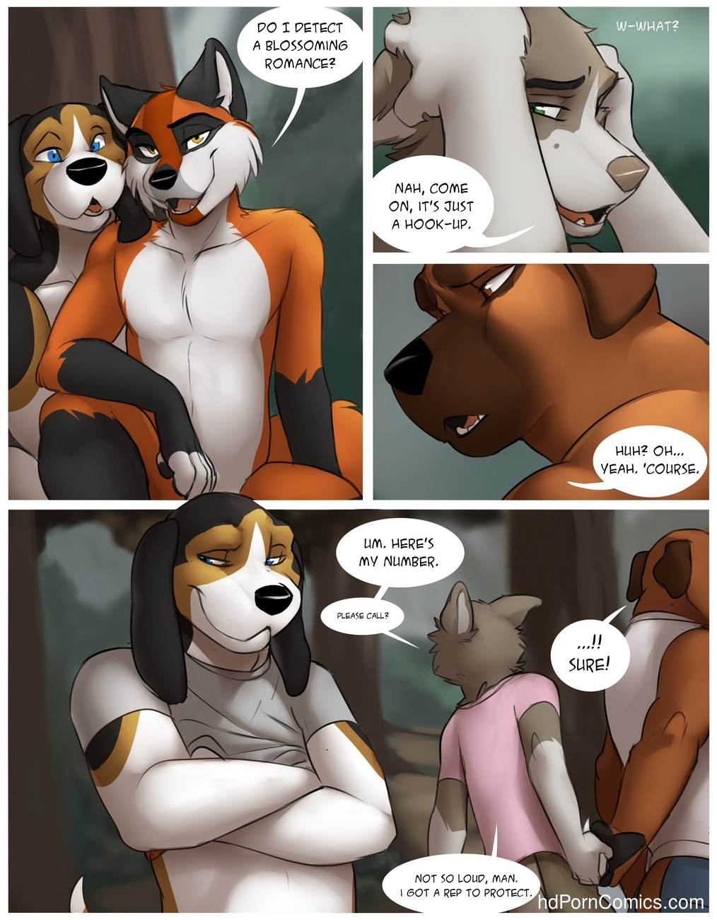 The Hunt Sex Comic