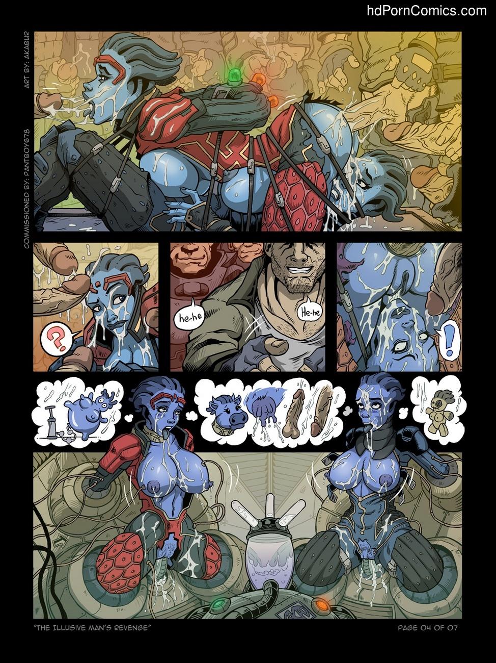 The Illusive Man's Revenge 5 free sex comic