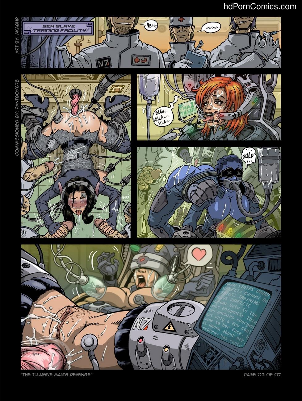 The Illusive Man's Revenge 7 free sex comic