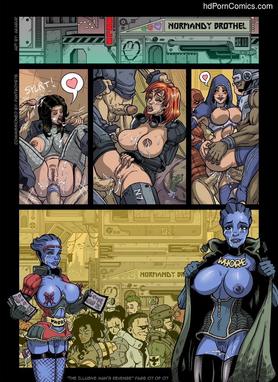 The Illusive Man's Revenge 8 free sex comic